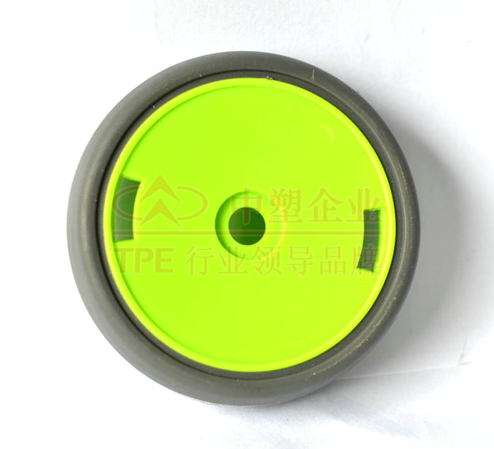 TPE cementing ABS wheel